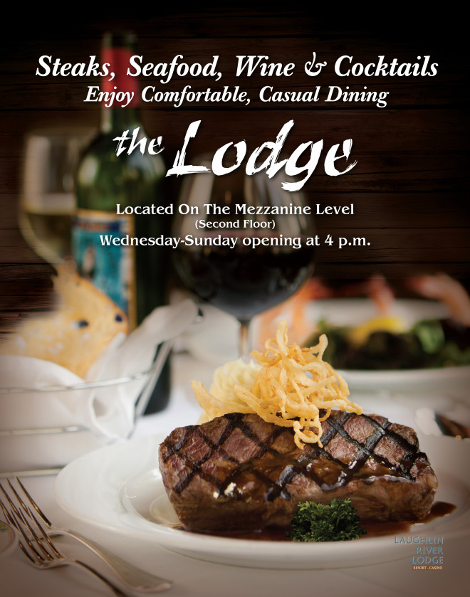 Lauglin River Lodge Steakhouse Poster