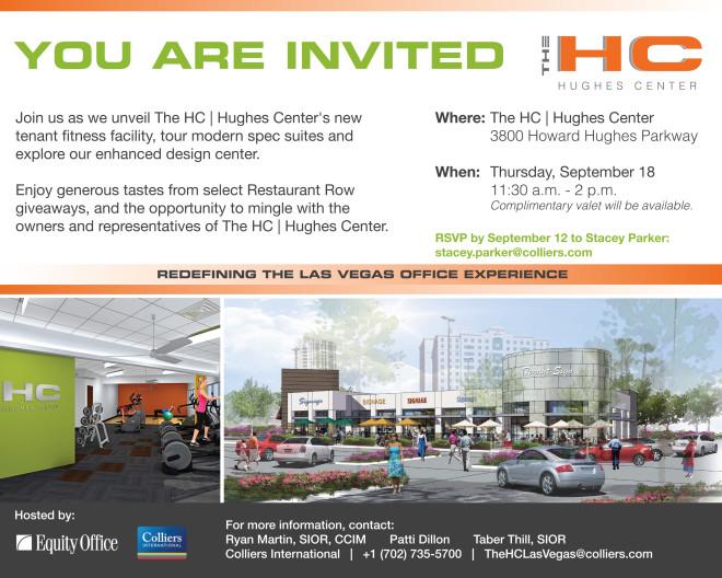 The HC Fitness Center Evite