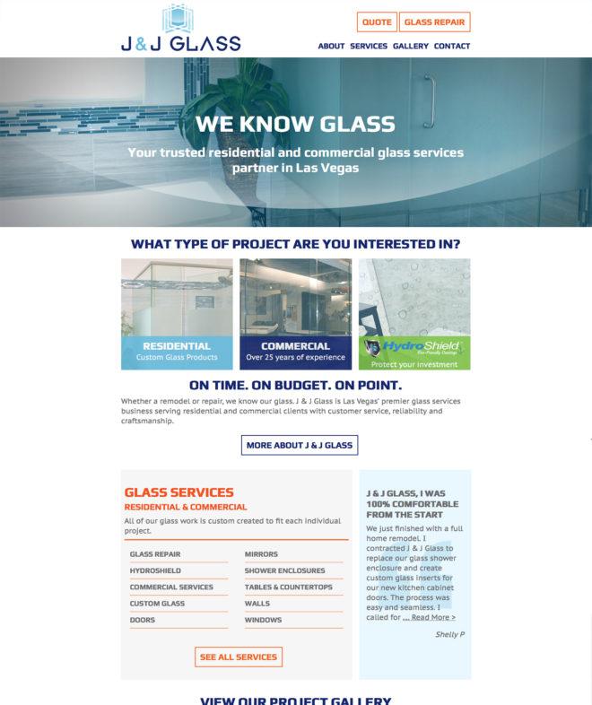 www.jandjglasslv.com