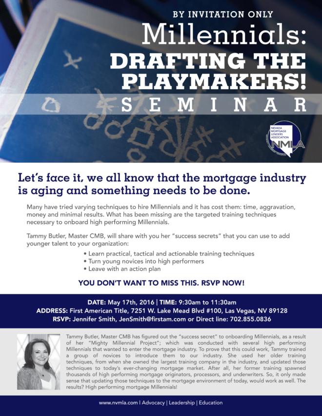 National Mortgage Lenders Association Evite