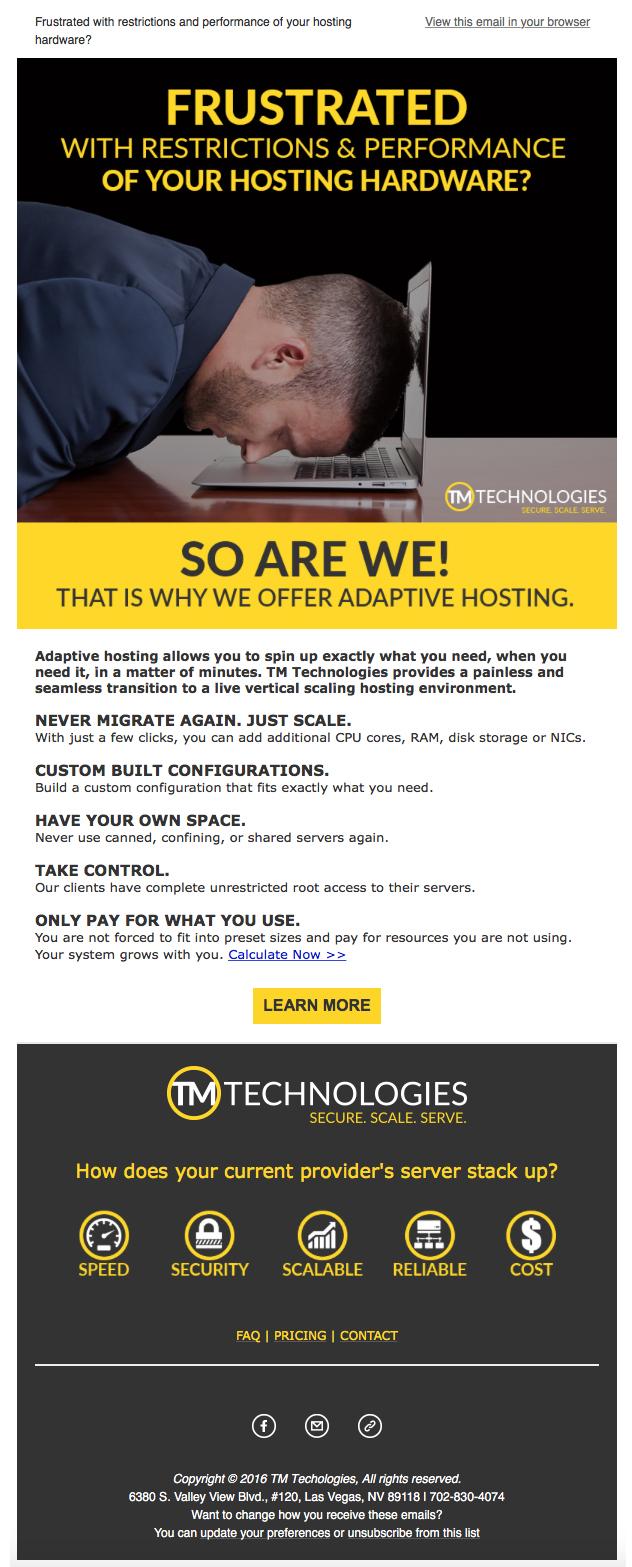 TM Technologies EBlast